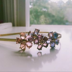 💜COACH Crystal flower headband💜